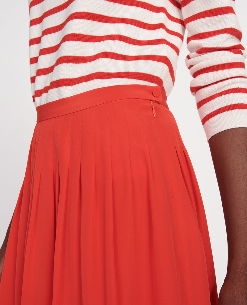 Loose skirt Fiery red Logrian