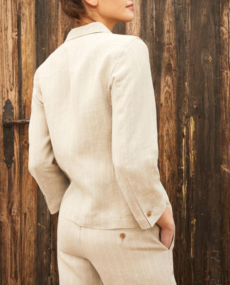 Blazer Natural linen/off white Imarus