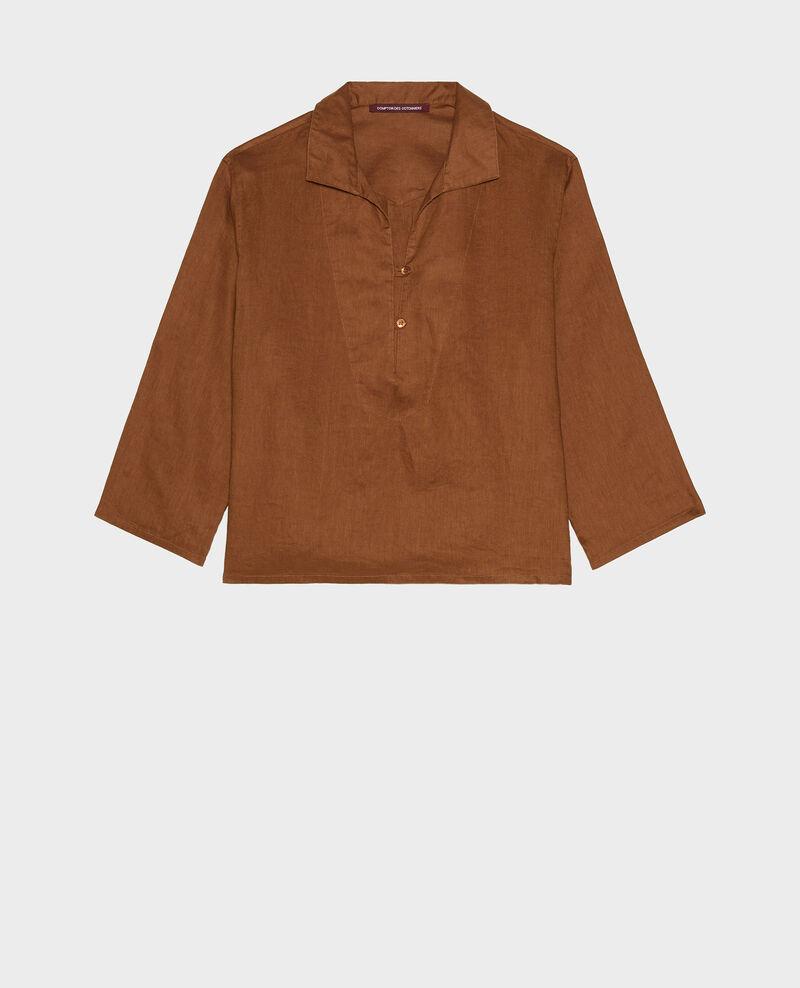 Linen pea jacket Monks robe Lortet