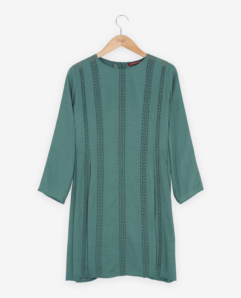 Dress with lace Peppermint Faise
