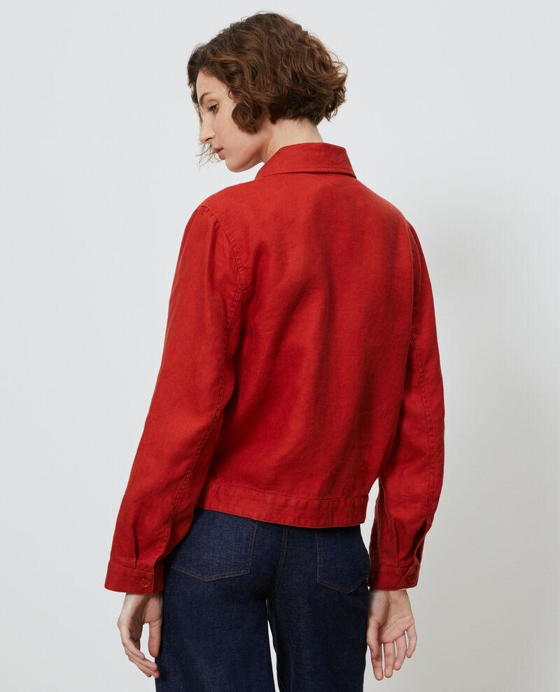 Linen zipped jacket Ketchup Loubajac