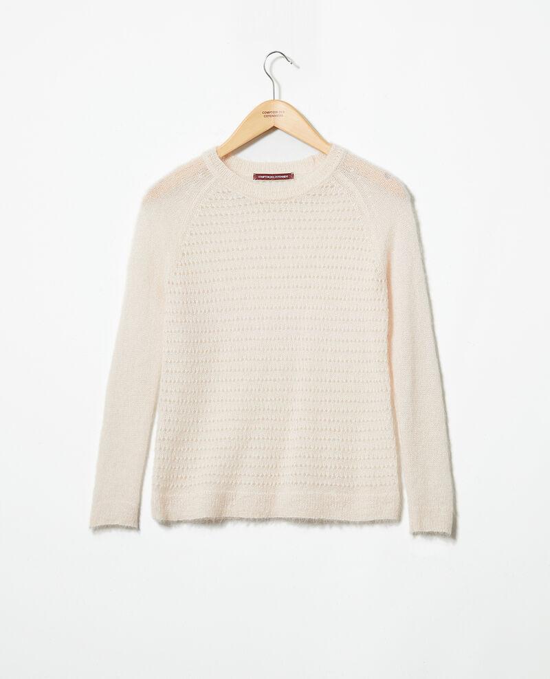 Novelty knit jumper  Light pink Iceo
