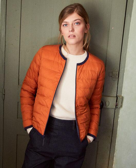 Iconic Mademoiselle Plume down jacket  OG/AMBER
