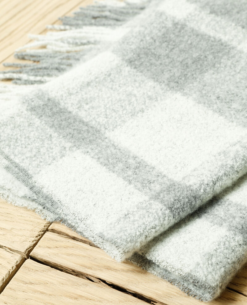 Long scarf Grey Girasol