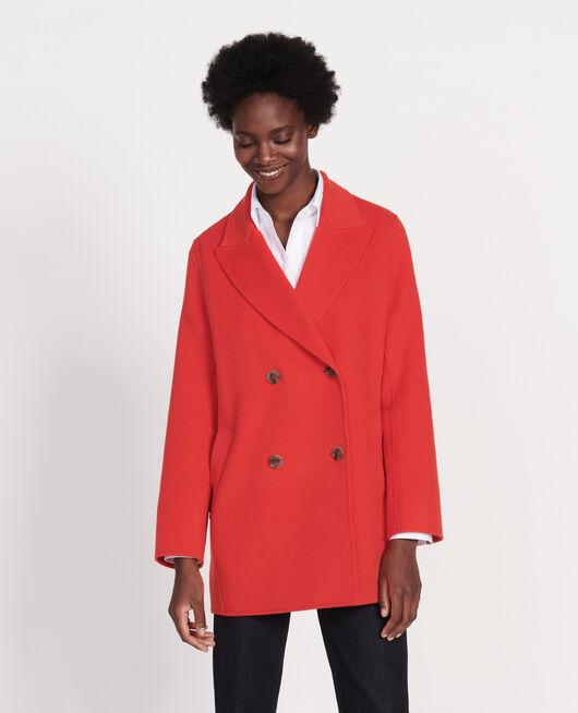 Short coat FIERY RED