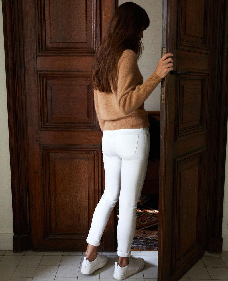 7/8 skinny jeans Blanc Ibonaira