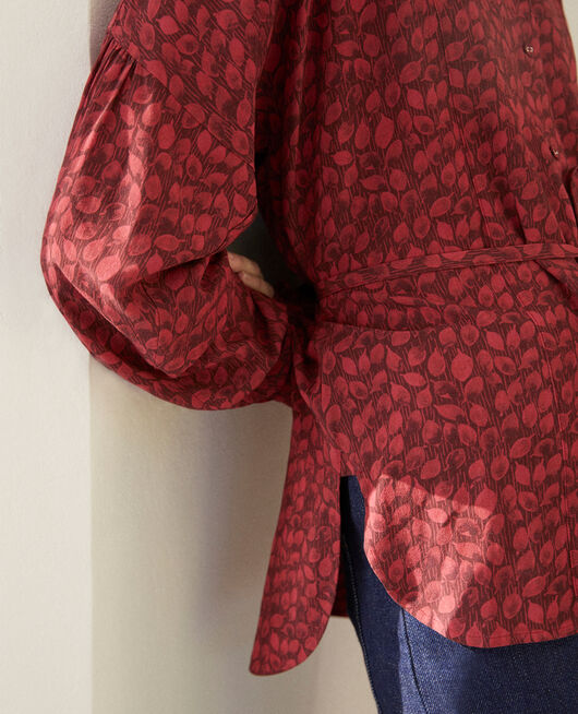 Loose blouse LD RIO RED