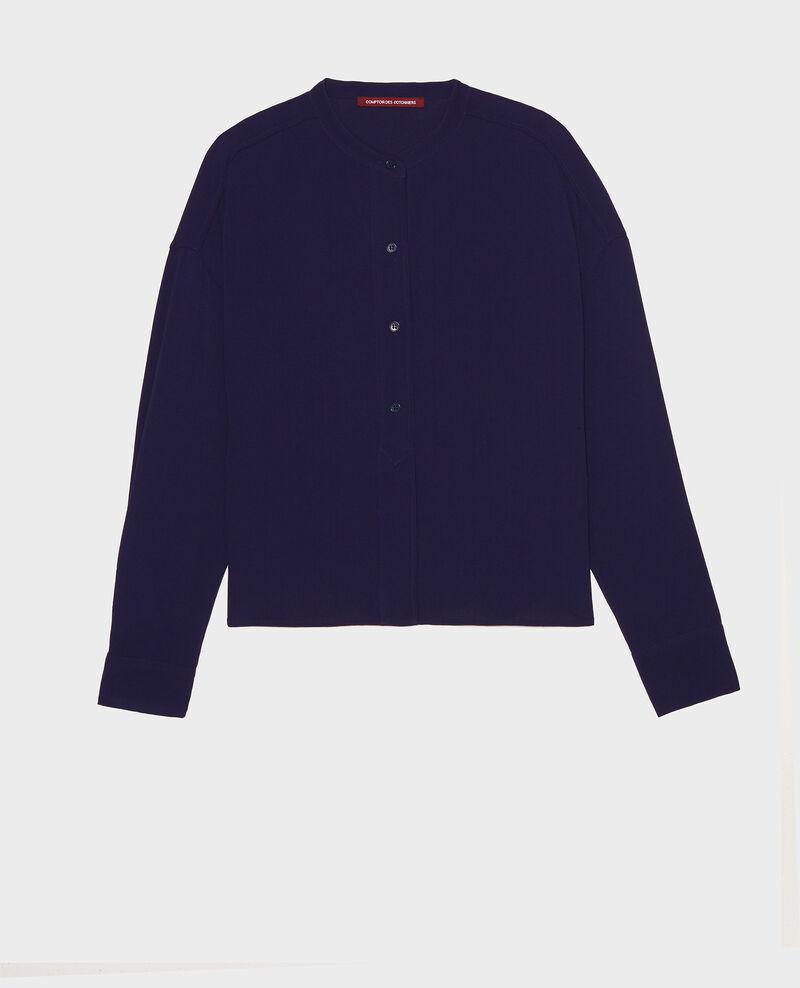 Straight-cut blouse Maritime blue Lorleau
