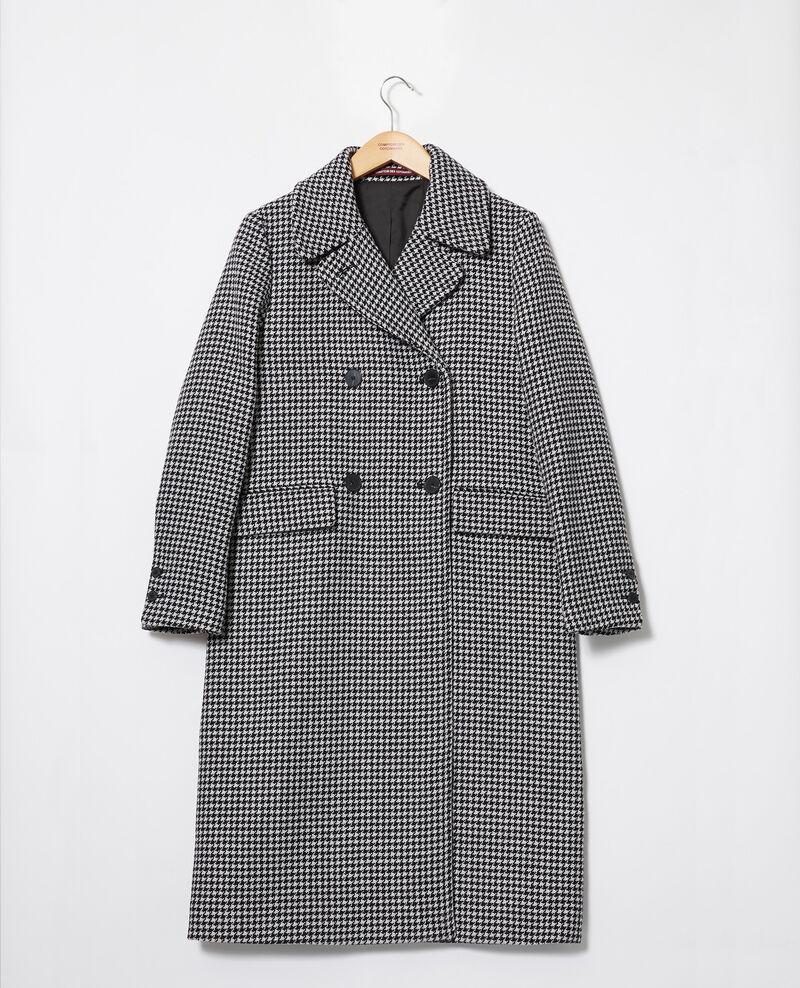Coat Houndtooth Janteau