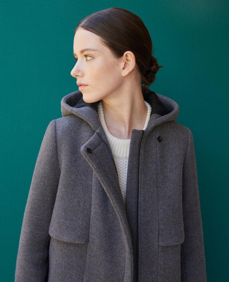 Hooded coat  Grey 9balex