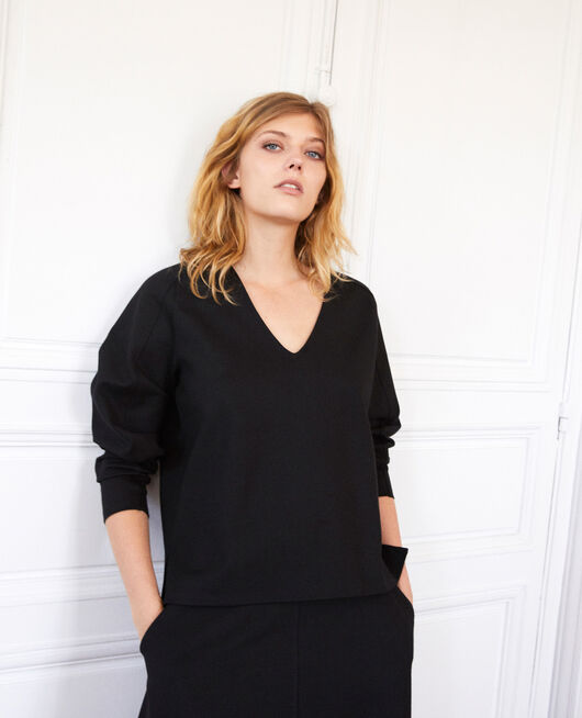 Long-sleeve t-shirt NOIR
