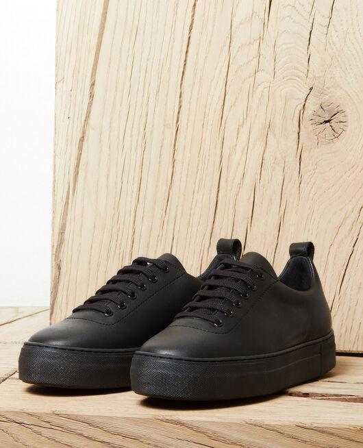 Platform sneakers NOIR