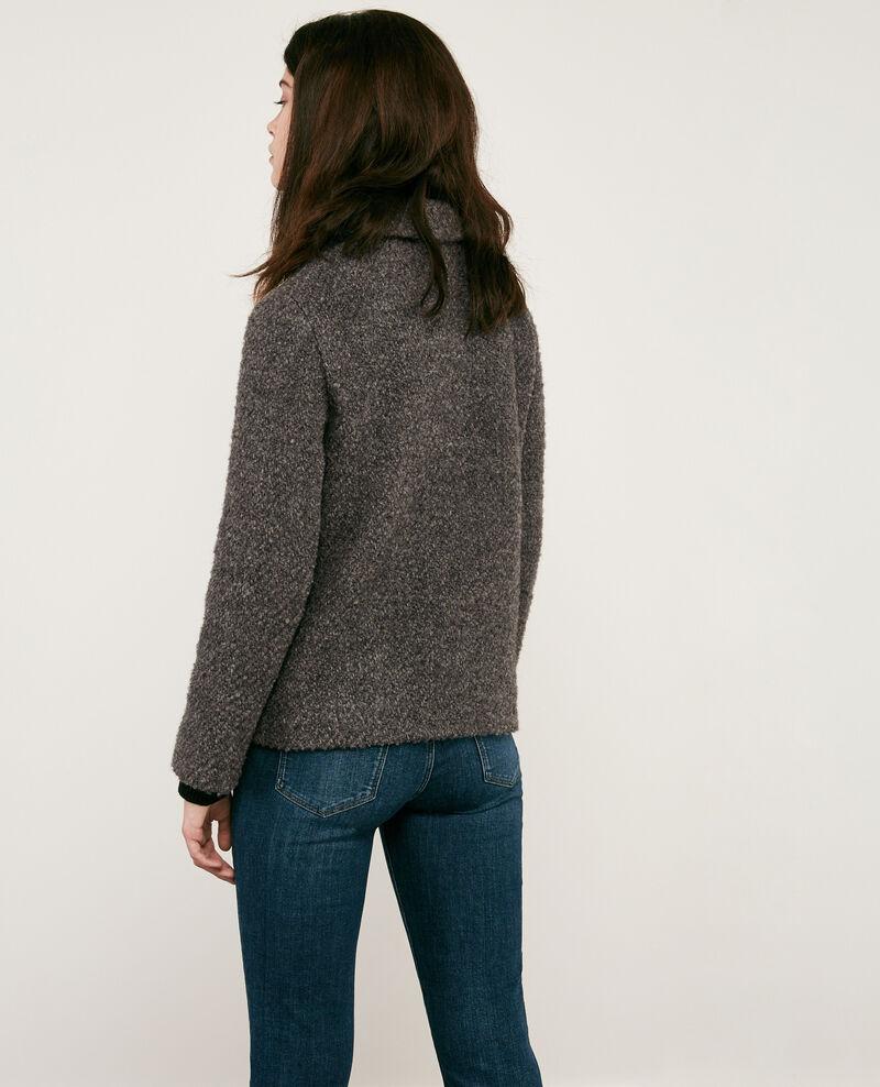 Wool blend jacket Dark grey Dayonne