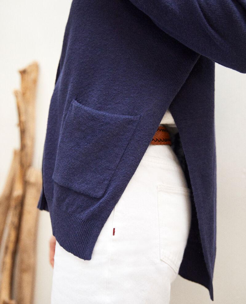 Oversize cardigan Ink navy Ilubi
