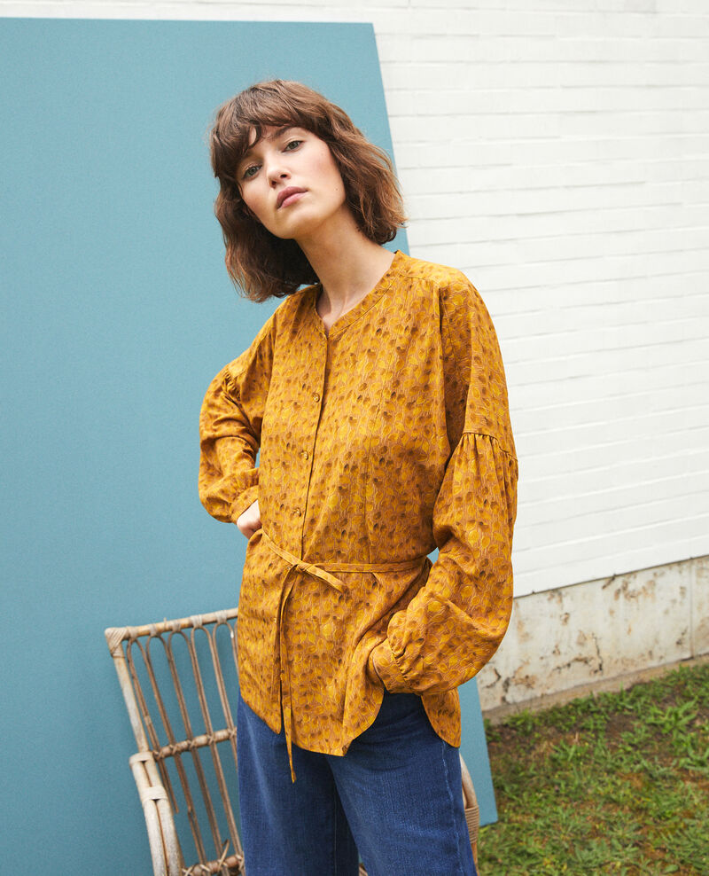 Loose blouse Ld golden spice Garuya