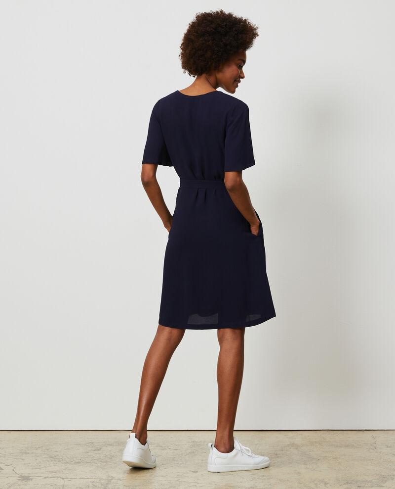 Short dress Maritime blue Lavishort