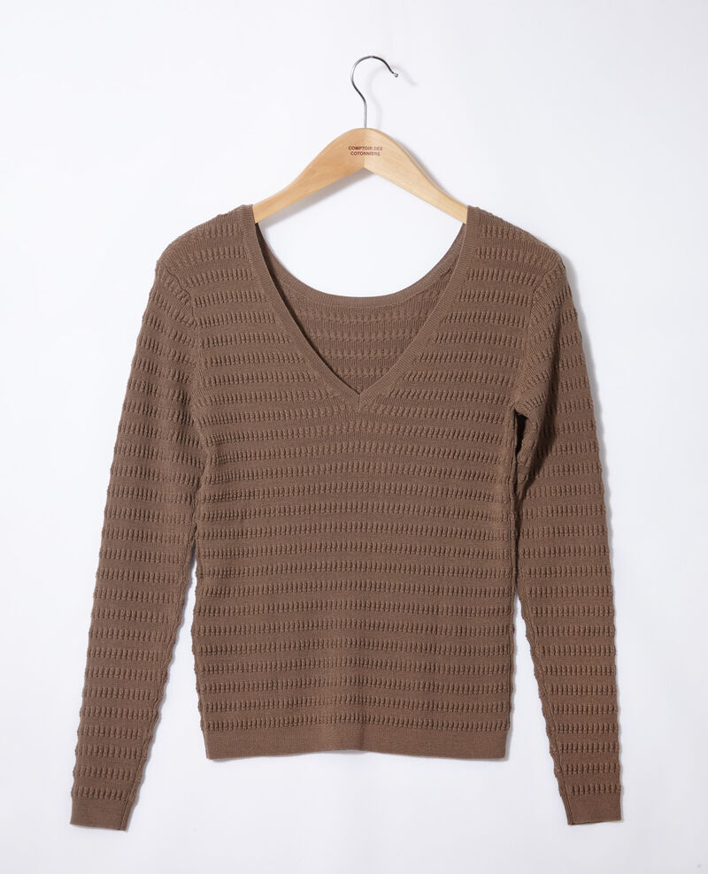 Reversible jumper Brown Grant