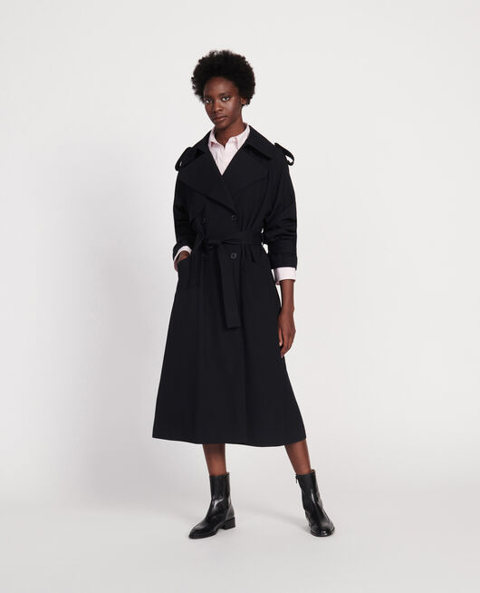 Trench en laine BLACK BEAUTY