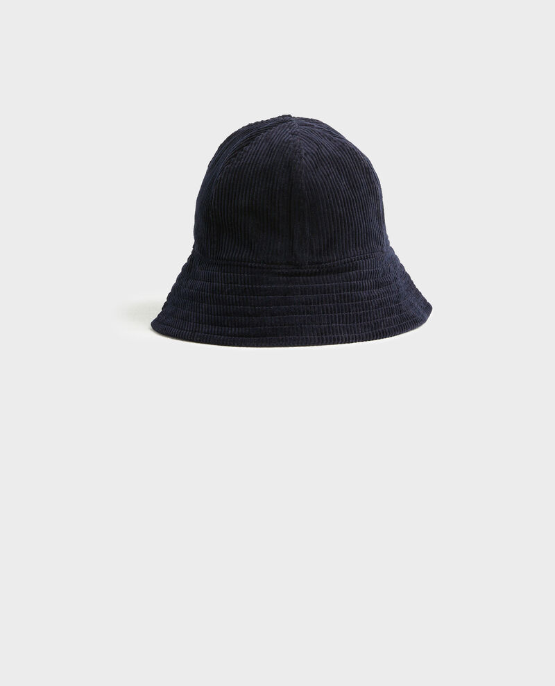 Corduroy bucket hat Night sky Pelo