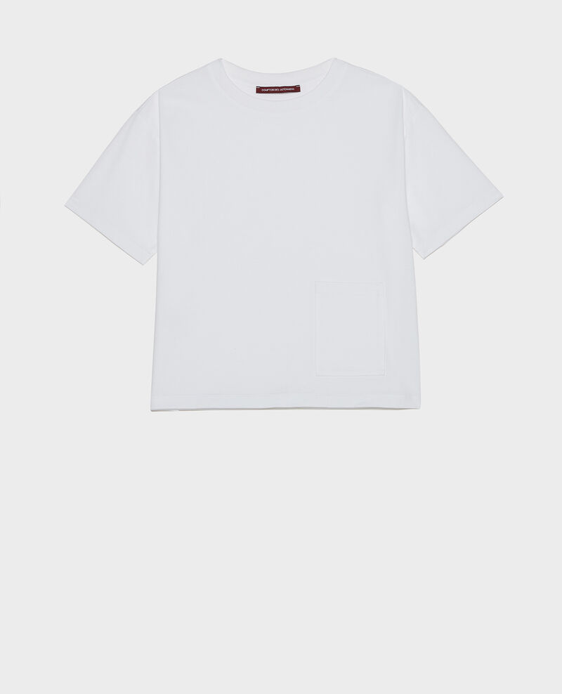 Oversize t-shirt Optical white Lexana