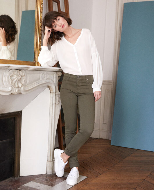 Slim fit jeans OLIVE NIGHT