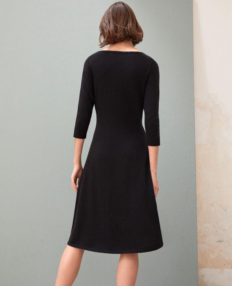 Wool dress Noir Irika