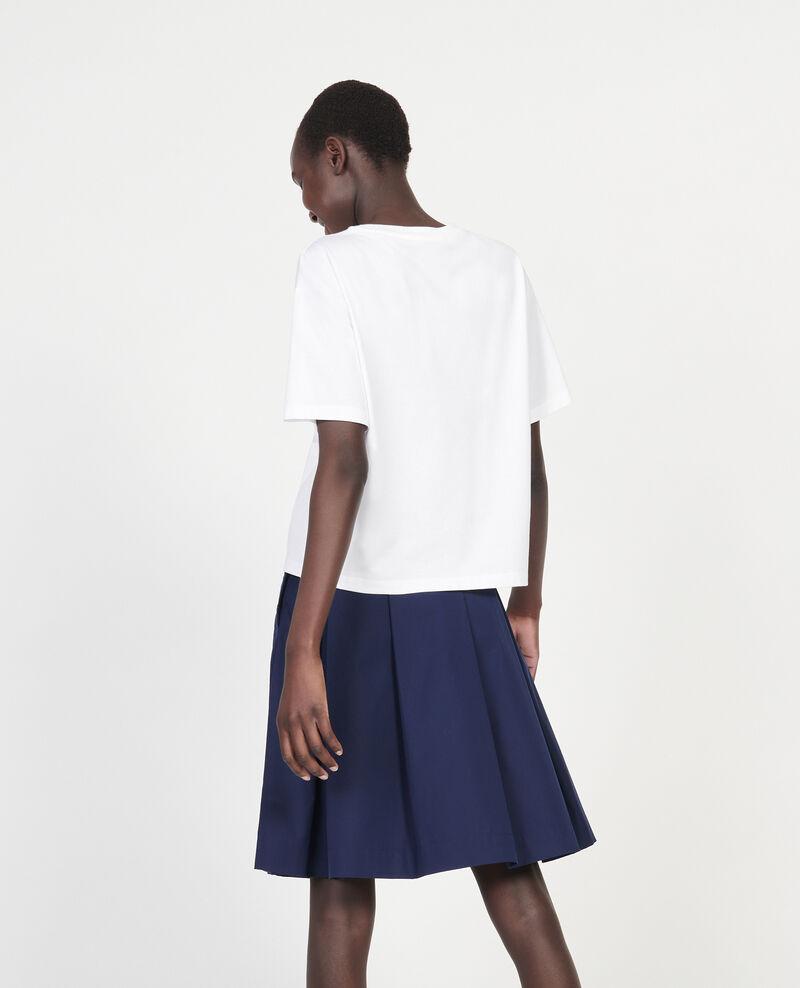 Oversize t-shirt Optical white Lexana