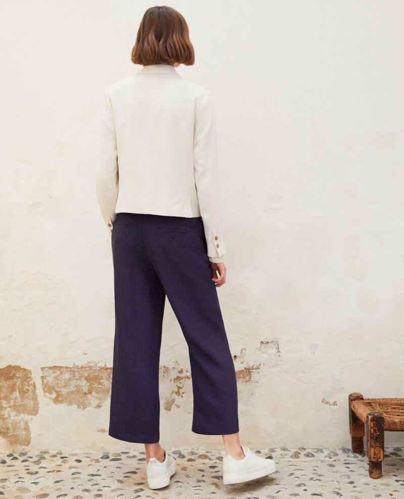Loose fit trousers  Ink navy Ipolla