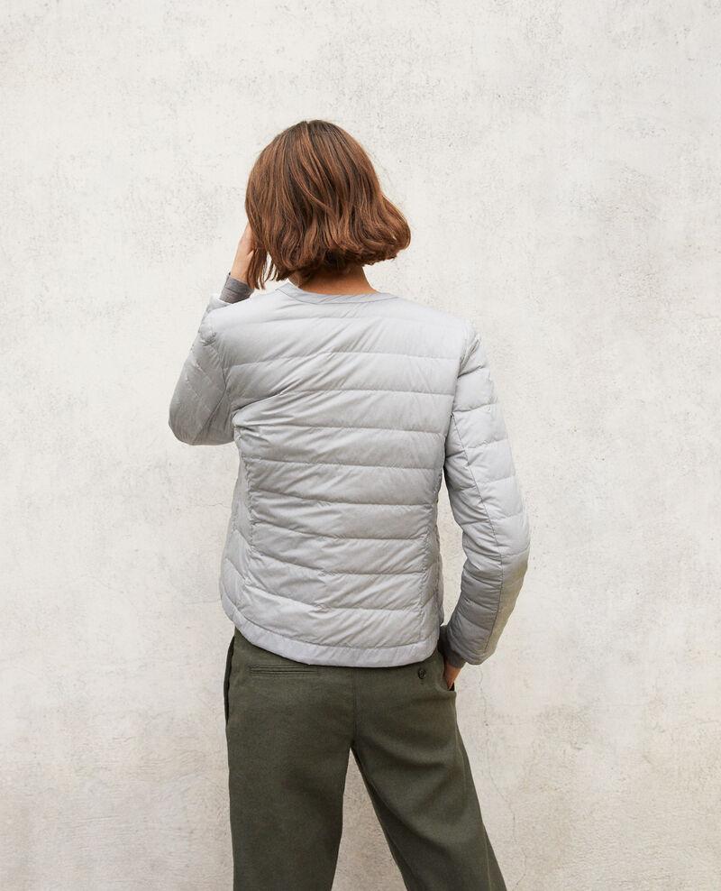 Iconic Mademoiselle Plume down jacket Gris Illopou