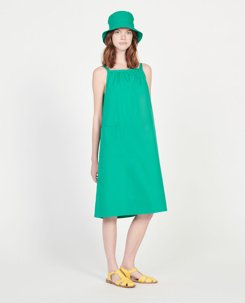 Cotton dress Golf green Lisle