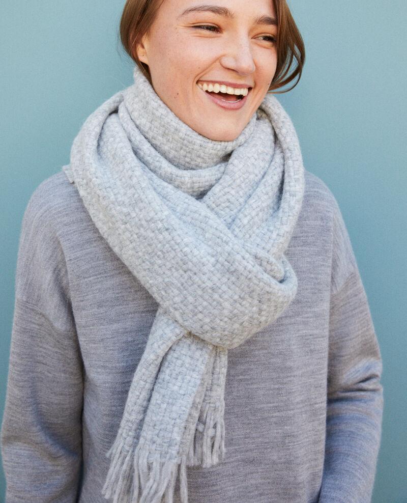 Big scarf Light grey Gene