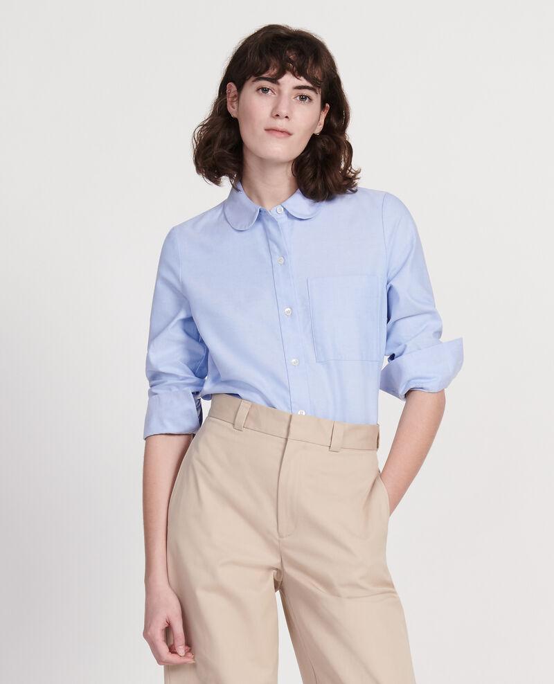 Cotton shirt  Chambray blue Lalica