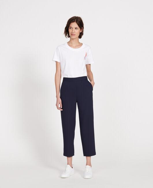 Straight-leg trousers MARITIME BLUE