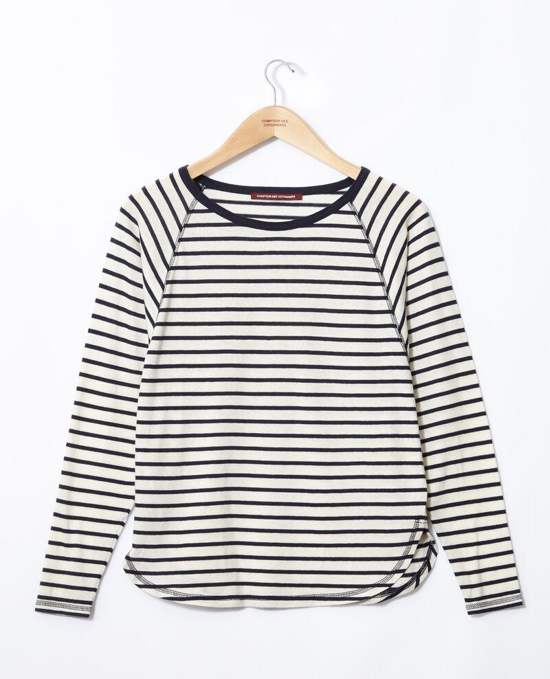 Striped T-shirt White Gainde