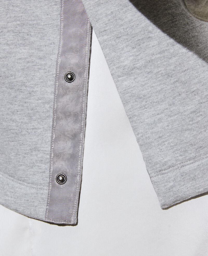 Turtleneck sweatshirt Gris chine Pexone