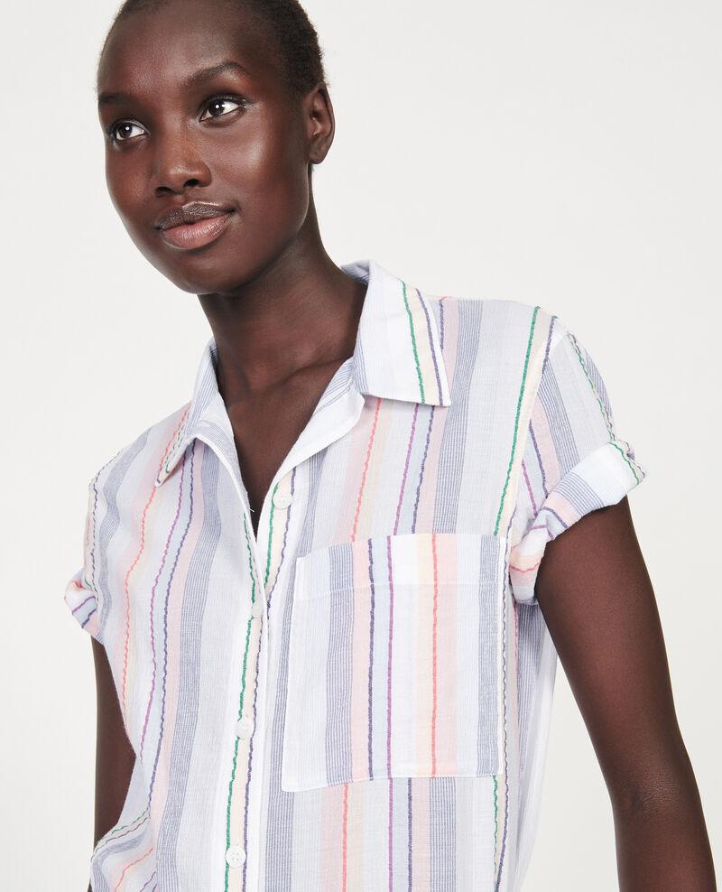 Cotton shirt Stripes multico Lehavre