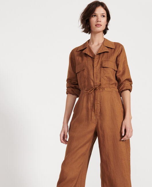 Linen jumpsuit MONKS ROBE