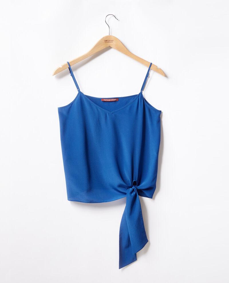 Silk vest Ultra marine Fidelio