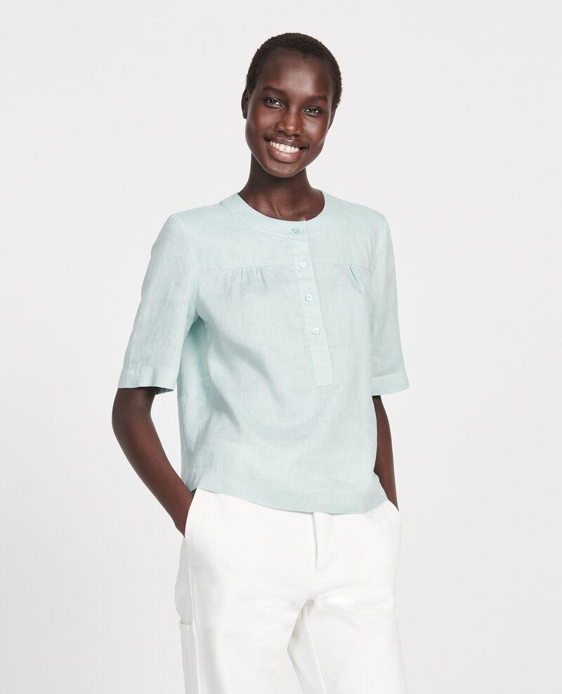 Linen blouse Blue haze Lantoine