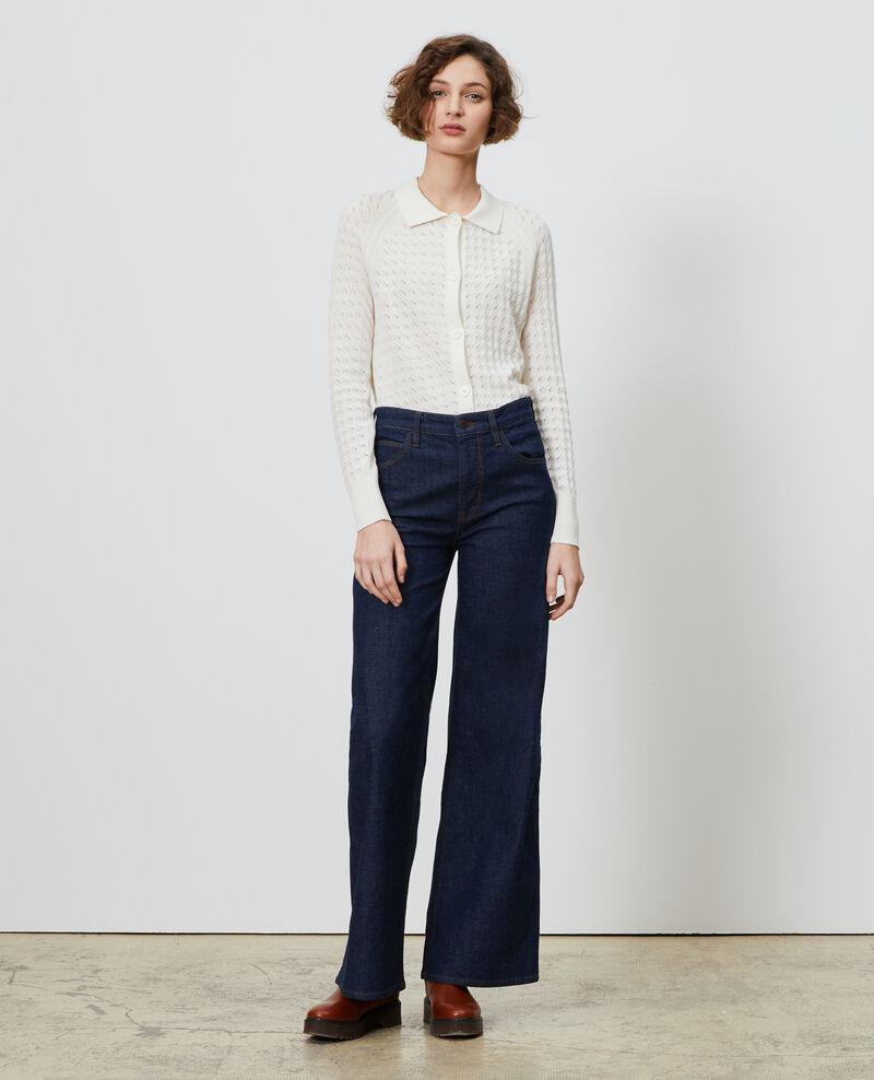 Cotton and linen cardigan Gardenia Novo