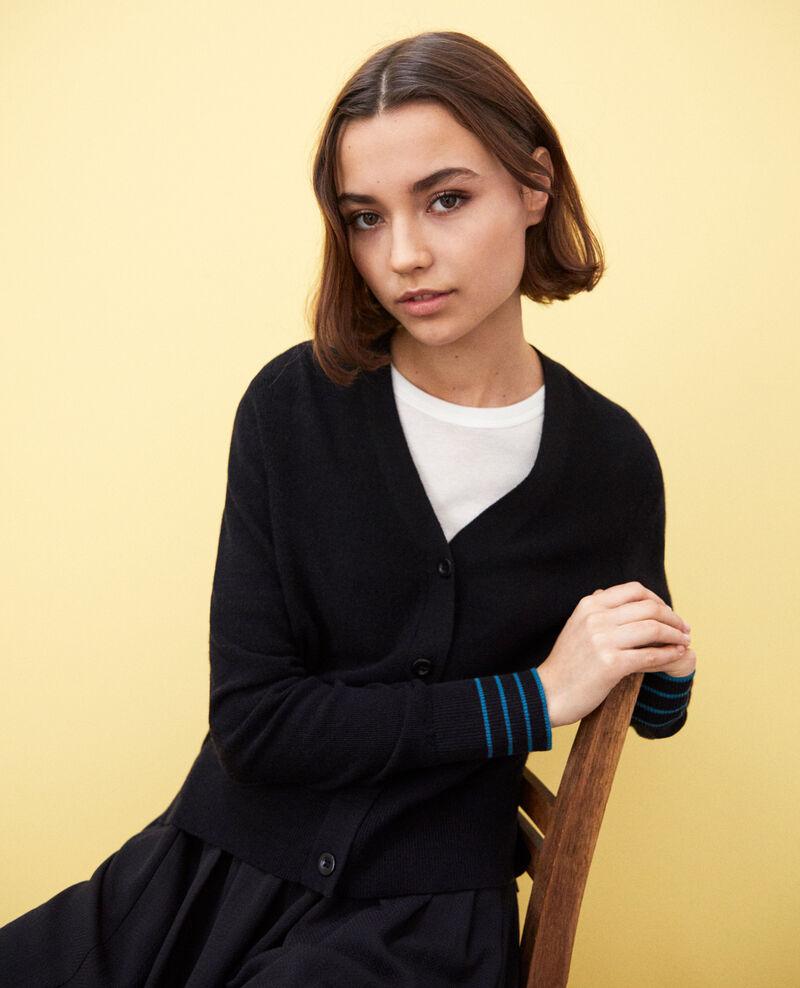 Wool cardigan Noir Idada