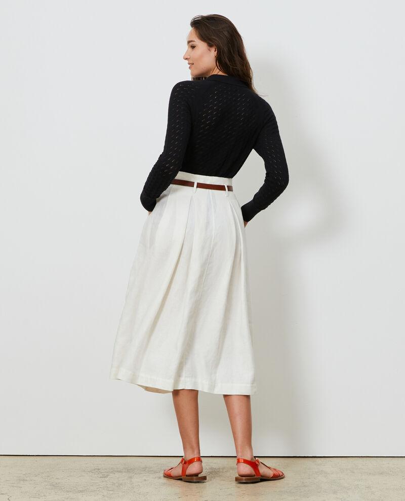 Mid-length skirt Gardenia Lorlange