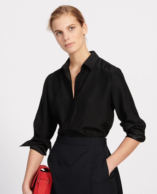 Silk shirt BLACK BEAUTY