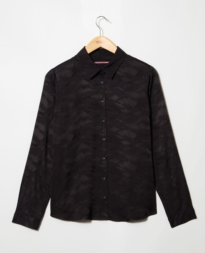 Printed shirt Noir Ikara
