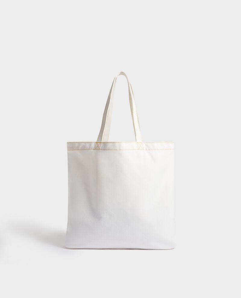 Printed canvas bag Gold fusion Mairie