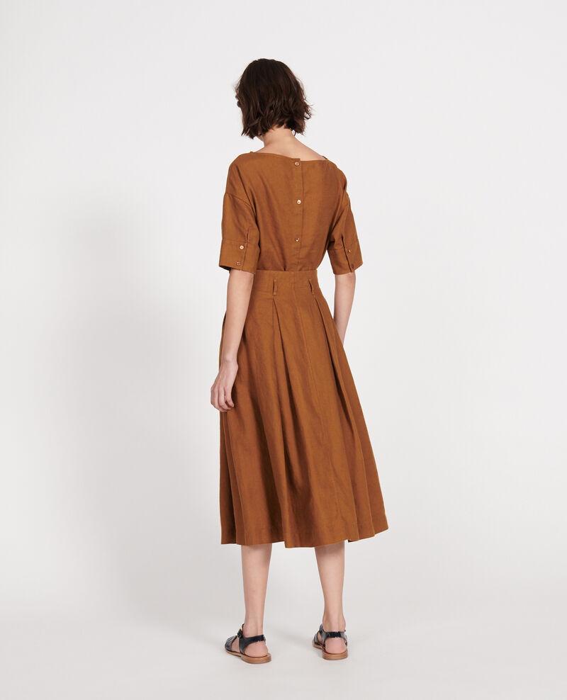 Loose linen skirt Monks robe Lorlange