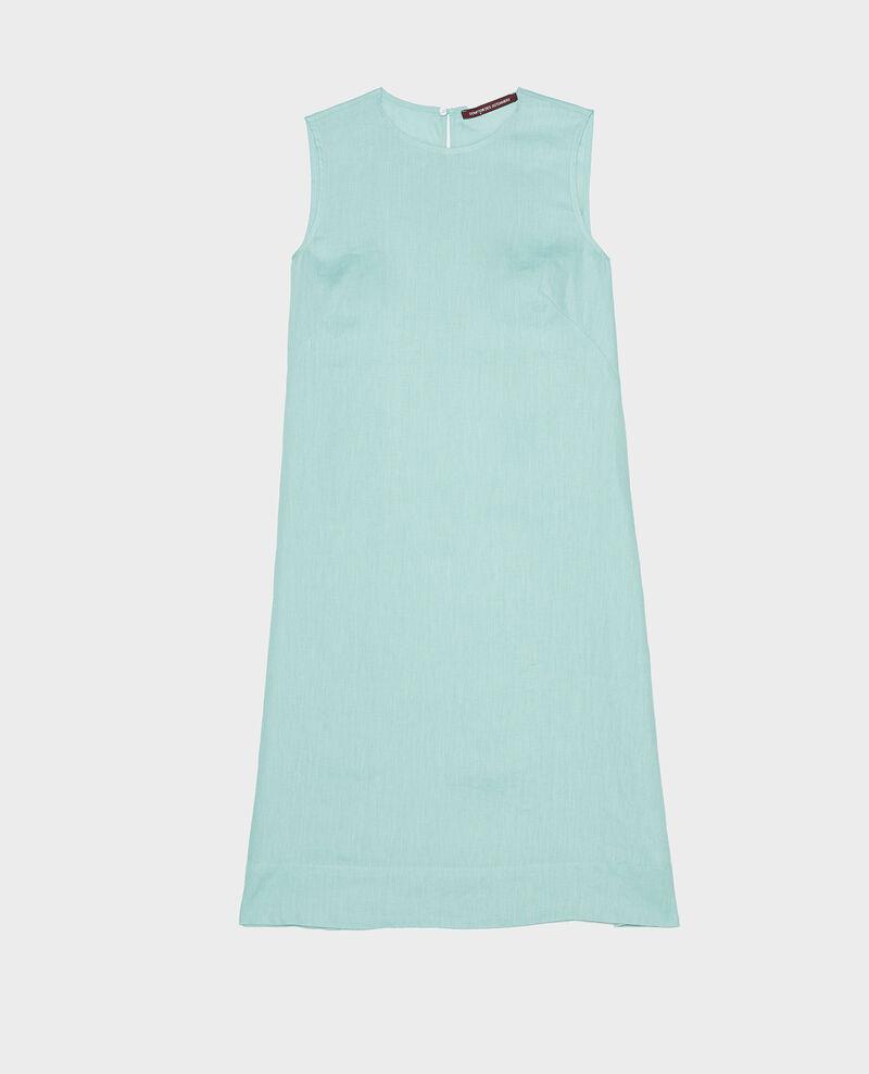 100% linen dress Blue haze Lux