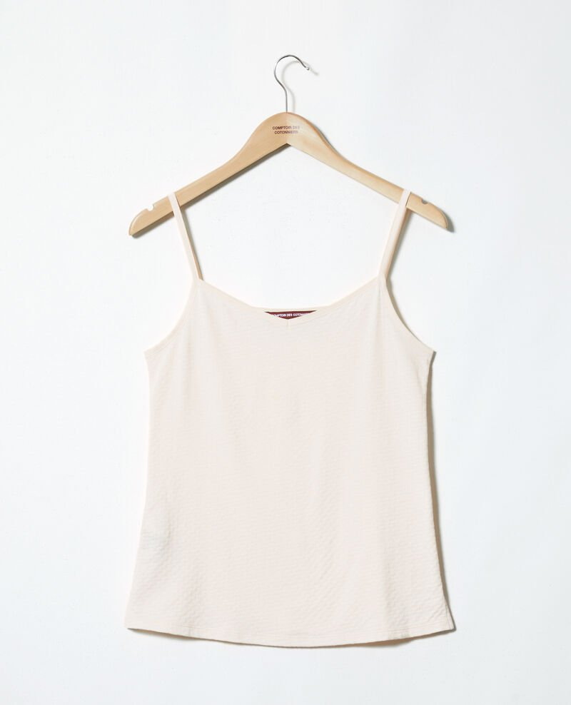 Vest top with spaghetti straps Light pink Gagnant
