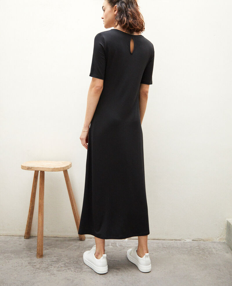 Dress in t-shirt fabric Noir Ifornia