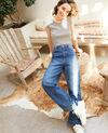 Wide full-length jeans Blue Guya